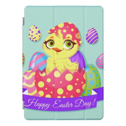 Happy Easter Day iPad Pro Cover - happy easter egg holiday family diy custom personalize