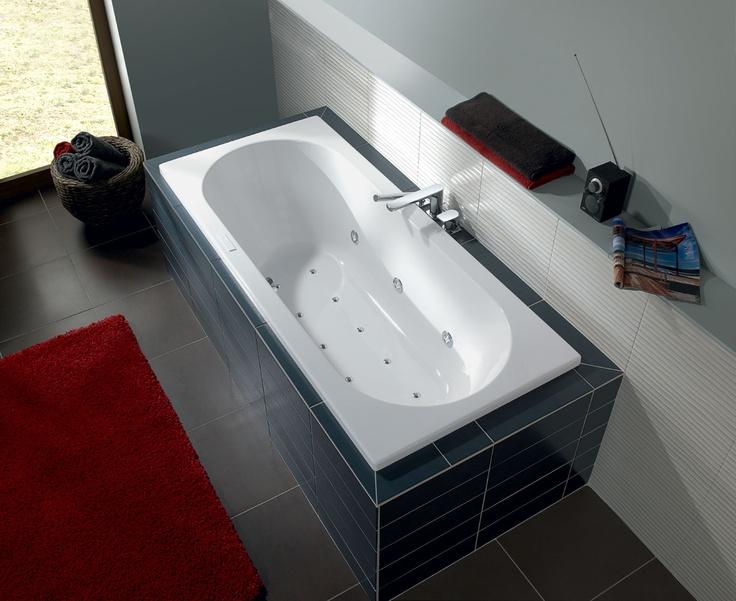 villeroy and boch onovo acrylic bath