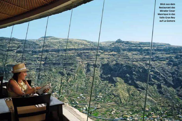 Traumhafter Ausblick in das Valle Gran Rey auf La Gomera! JETZT bei Readly lesen: REISE & PREISE 4-2015 - Seite 43