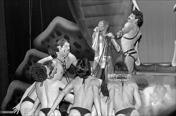Model and musician Grace Jones performs at Studio 54 New Year's Eve Party, New York, New York, January 1, 1978.
