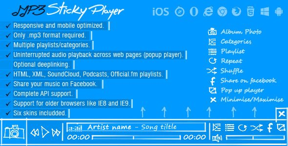 MP3 Sticky Player (Media)