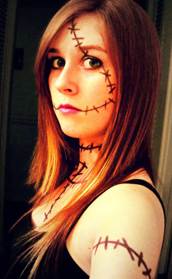 Sally Nightmare Before Christmas Makeup Diy | Makeupview.co