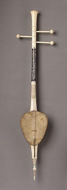 |So Sam Sai Date: 19th century Geography: Thailand Medium: Coconut, skin, ivory