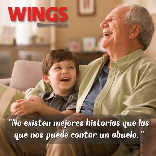 """No existen mejores historias que las que nos puede contar un #Abuelo."" #Citas #Frases @Candidman"