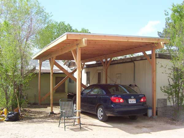 Carport life pinterest carport ideas diy carport for Carport deck