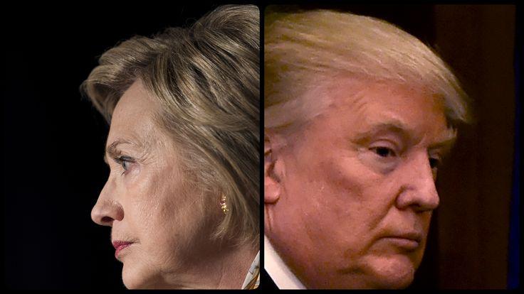 روزشان بود؛ ترامپ و کلینتون