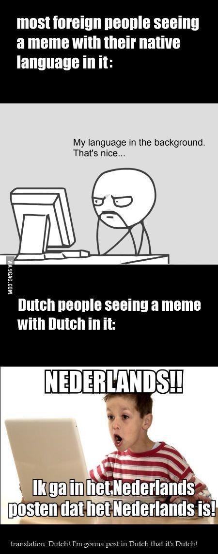 Dutch people being Dutch...