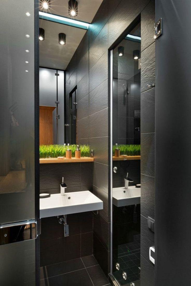 Remekbe szabott 40nm-es modern kis lakás sok szép megoldással