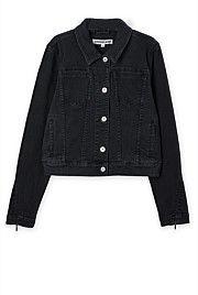 Zip Cuff Jean Jacket