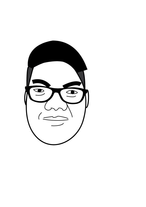 my animated amateur face