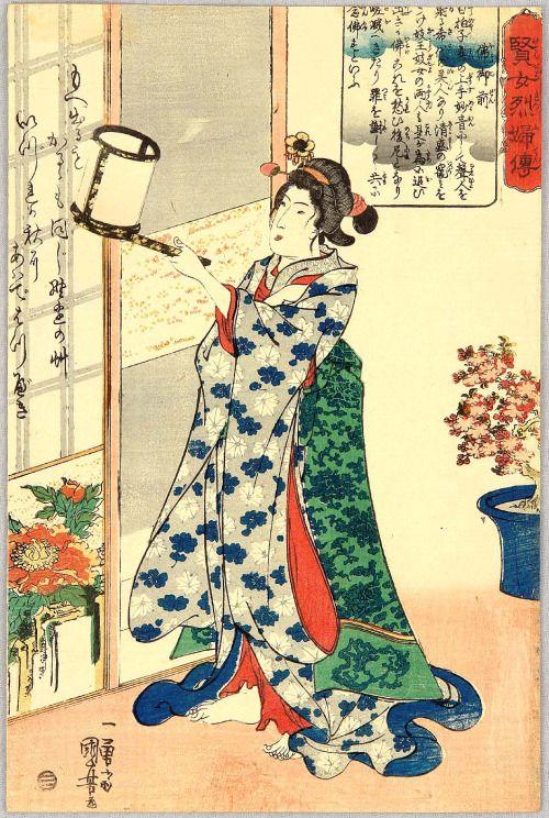 Hotoke Gozen - Kenjo Reppu-den 1843