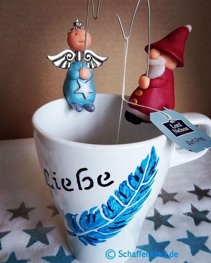 Selbstgemachte Teebeutelhalter. Ideal als Weihnachtsgeschenk. Gesehen bei #diy #deko #selbstgemacht #xmas #weihnachten #geschenke #gift #giftideas #geschenkideen #mirajolie #gonis #schaffenszeit