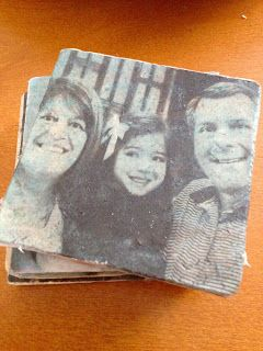 How to make DIY coasters with pictures (Several techniques with varying results)