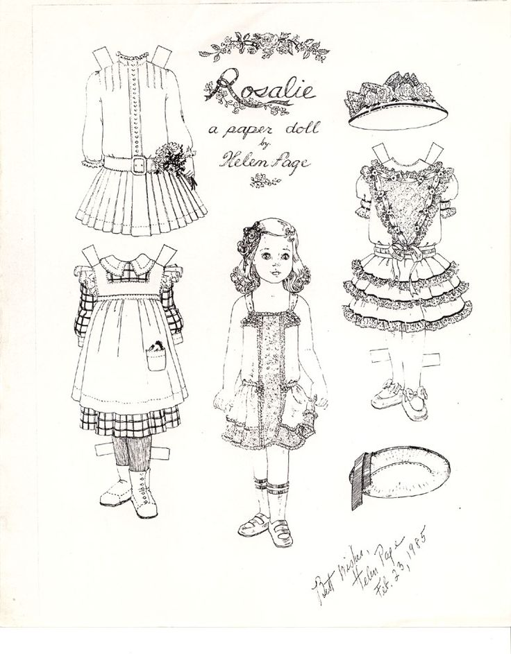133 best paper dolls images on Pinterest Paper Paper dolls and