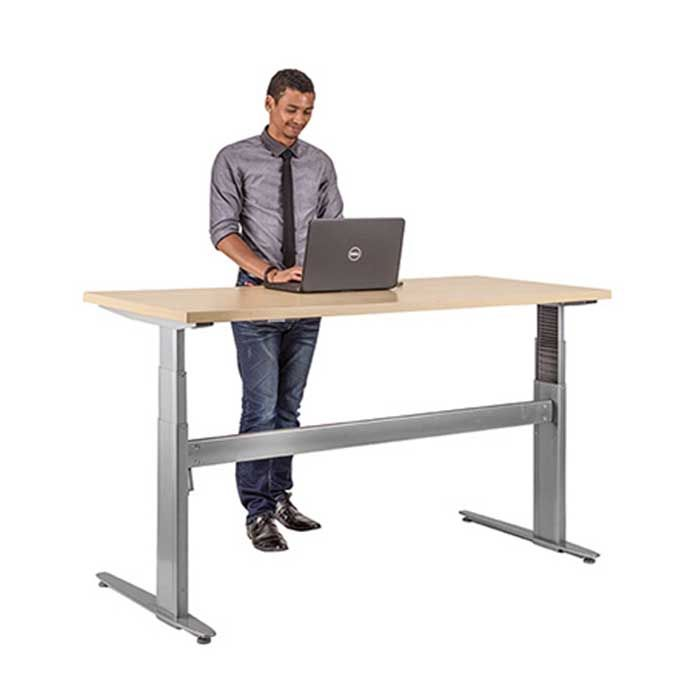 Stand Up Standing Office Desk Available At Zippy Office Furniture