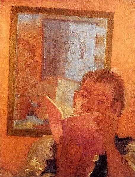 Derkovits Gyula: Három nemzedék, 1932.