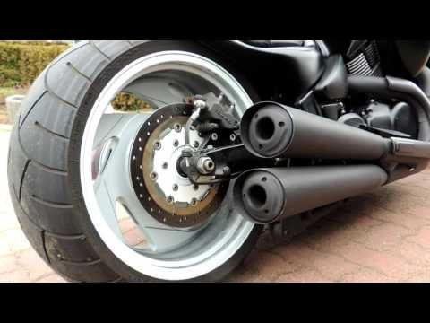 Suzuki Intruder VZR 1800 --- HARDCORE Umbau --- - YouTube