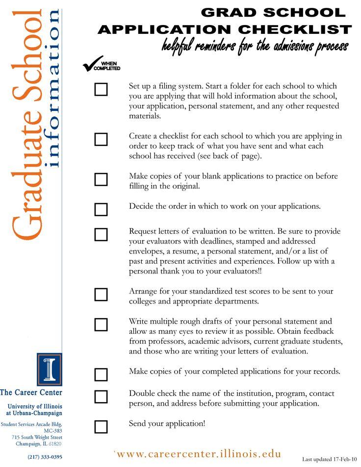 54 best images about Graduate School Application on Pinterest - resume for grad school application