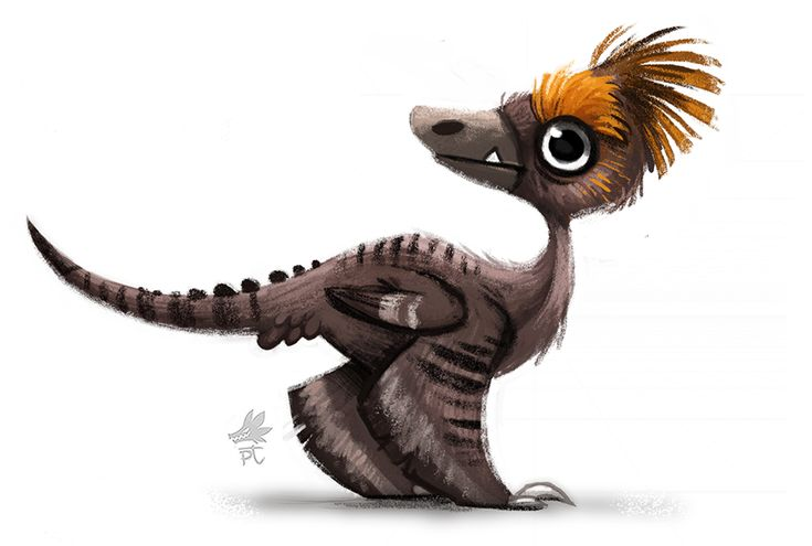 Daily Paint 650. Jurassic Book - Style Exploration by Cryptid-Creations.deviantart.com on @deviantART