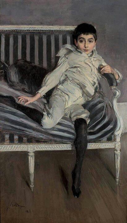 Giovanni Boldini (1891) Pepita Errázuriz Alvear fille de don Matías Errázuriz Ortúzar et Josefina de Alvear Fernández. Après Madame Gómez de Tezanos Pinto