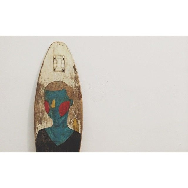 Painted board