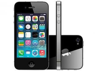 Oferta! O iPhone 4S apresenta uma linda tela retina de 3,5 polegadas, câmera de 8 megapixels, câmera FaceTime para chamadas de vídeo, chip dual-core A5, conexão sem fio ultrarrápida e longa vida útil da bateria. O iPhone 4S vem com o iOS 7, a mais significativa atualização do iOS desde o iPhone original, apresentando um lindo novo design e centenas de novos recursos, incluindo a Central de Controle, multitarefa mais inteligente, apps Câmera e Fotos aprimorados e muito mais!