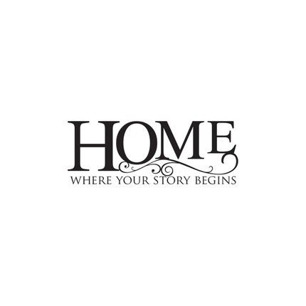 Viny Lettering Wall Art Home Where Your Story Begins