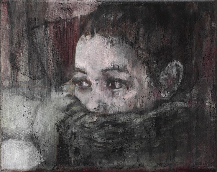 Girl with Scarf — Josef Bolf, 2011