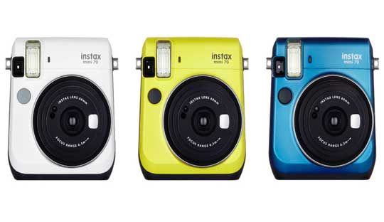 Fujifilm Instax Mini 70 Camera with Auto Exposure and Selfie mode: Pre-order at $139