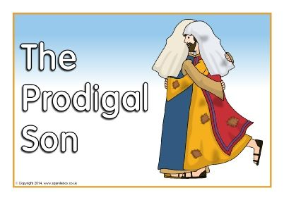 The Prodigal Son visual aids (SB1445) - SparkleBox   Free PowerPoint format.