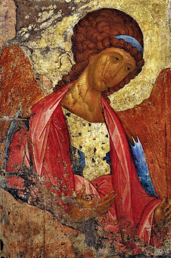 Icono ruso de Miguel, de Andrei Rublev