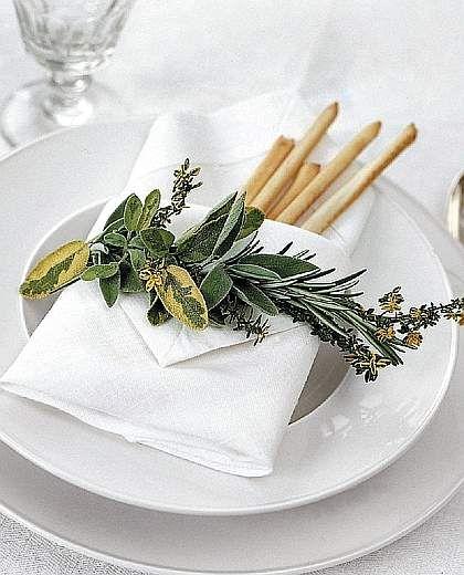 Decorare con le piante aromatiche - Corriere della Sera