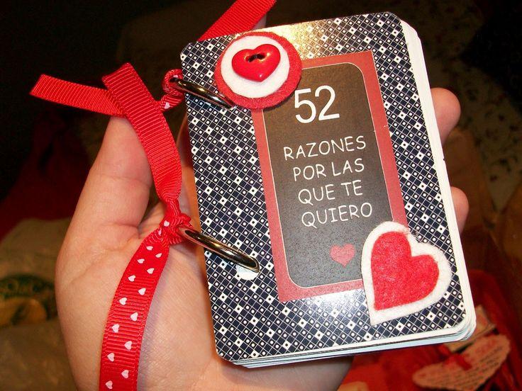 52 razones por las que te quiero