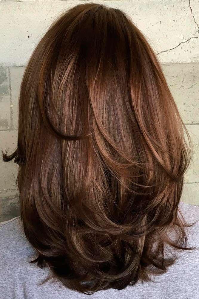 Fun, Flirty, Fashionable Layered Haircuts for Medium Hair ★ See more: http://glaminati.com/fun-fashionable-layered-haircuts-medium-hair/