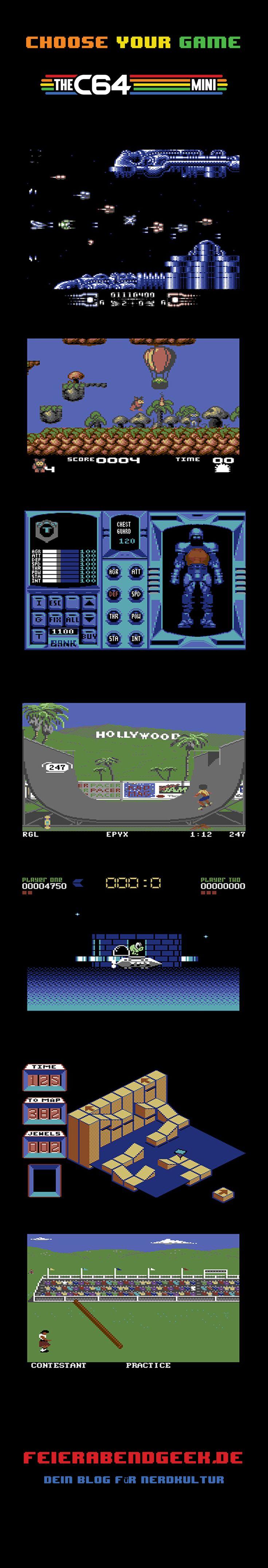 """""""The C64 Mini"""" bringt legendären Games des modore 64 zurück in dein Wohnzimmer"""