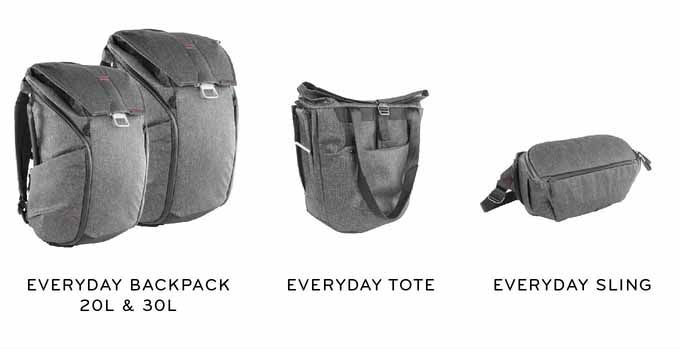 Peak Design has 4 new bags out!!  If you're at all interested in PD or a new camera bag, I've written two posts related to my Peak Design camera bag.