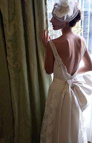 Empire wedding dress by @Vassilis Zoulias