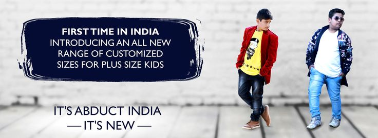 We provide plus size kids wear online shopping store sale large size kids wear or odd size kids clothes & dresses at affordable rate. We also sale customize plus size kids denim jeans, odd size children clothes, plus size designer shirts, plus size boys and girls clothes, kids wear, kid's denim, large size kids wear, Fatty kids wear, large size denim jeans, plus size kid's dresses and much more. Abduct India comes in online shopping market with the latest era.
