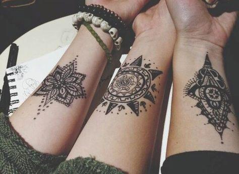 bohemian, boho, flowers, girl, heart, hipster, indie, ink, jewelry, life, love, pattern, rock, skull, style, sun, tattoo, tribal