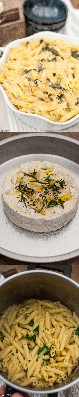 My FAVORITE Recipes: Brie Mac and Cheese - Vikalinka