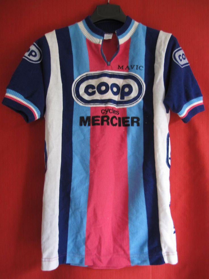 Maillot Cycliste Vintage Coop Mercier Mavic Année 1983 2 | eBay