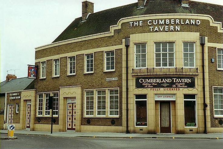 The Cumberland Tavern designed by the prolific architect A E Cogswell. Now converted to flats.