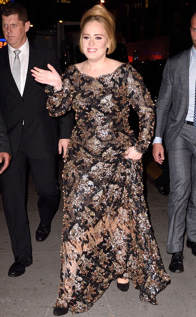 NEWS:  Adele's Radio City Music Hall Performance Brings in Tons of Celebrities