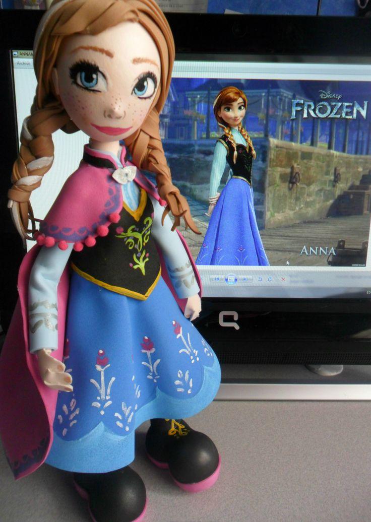Fofucha Disney Anna de Frozen