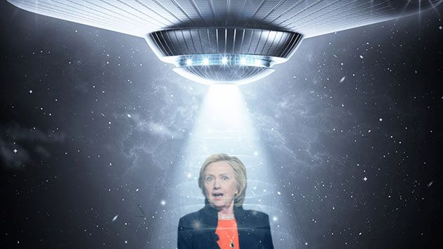 ETs for Hillary: Why UFO Activists Are Excited About Another Clinton Presidency | Mother Jones