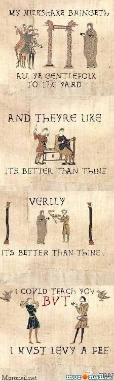 Bayeux Tapestry meme never gets old