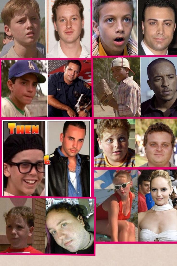 The Sandlot. Then and Now  AHHHHHHHHHHHHHHHHHHHHHH!!!!