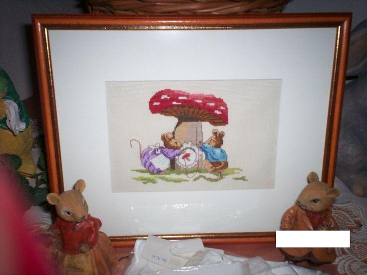 Kinderbild Mäusepaar