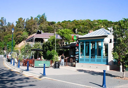 Akaroa, New Zealand: historic French settlement, packed with art galleries, boutiques and craft stores.