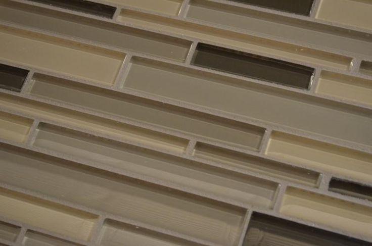 Glass Tile Kitchen Backsplash Tile Available At Lowe 39 S Finish The Look
